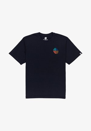 AUDOBON  - Print T-shirt - eclipse navy