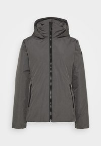 CMP - WOMAN JACKET FIX HOOD - Kurtka zimowa - dust - 5