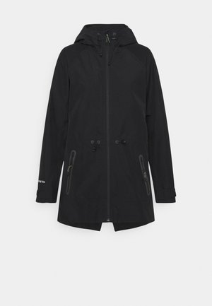 GORE PACKRITE - Hardshell jacket - black