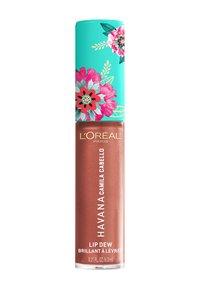 L'Oréal Paris - LIP DEW CAMILA - Pomadka w płynie - 04 lit up - 1