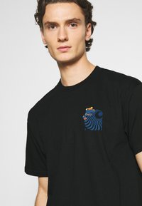 Carhartt WIP - SOCIETY - Print T-shirt - black - 3