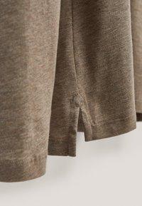 Massimo Dutti - MIT STRUKTURMUSTER  - Polo shirt - brown - 3