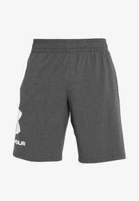 Under Armour - Sports shorts - charcoal medium heather/white - 3