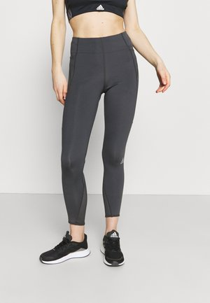 HOW WE DO 7/8 TIGHTS - Leggings - solid grey
