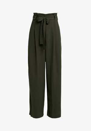 YASEMIN LONG TROUSERS - Trousers - deep depth