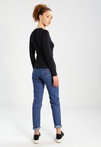 Pepe Jeans - NEW VIRGINIA  - Topper langermet - black - 2
