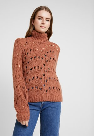VIKNITA KNIT - Jersey de punto - copper brown