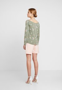 edc by Esprit - CORE ADDITIONAL - Long sleeved top - khaki/green - 2