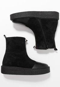 Ca'Shott - Platform ankle boots - black - 3