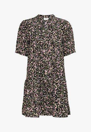 KLEID PRINT - Sukienka letnia - black