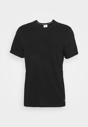 ECO LOUNGE CREW NECK - Pyjamapaita - black