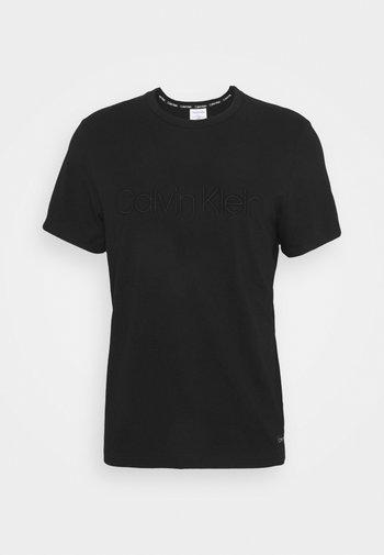 ECO LOUNGE CREW NECK - Camiseta de pijama - black