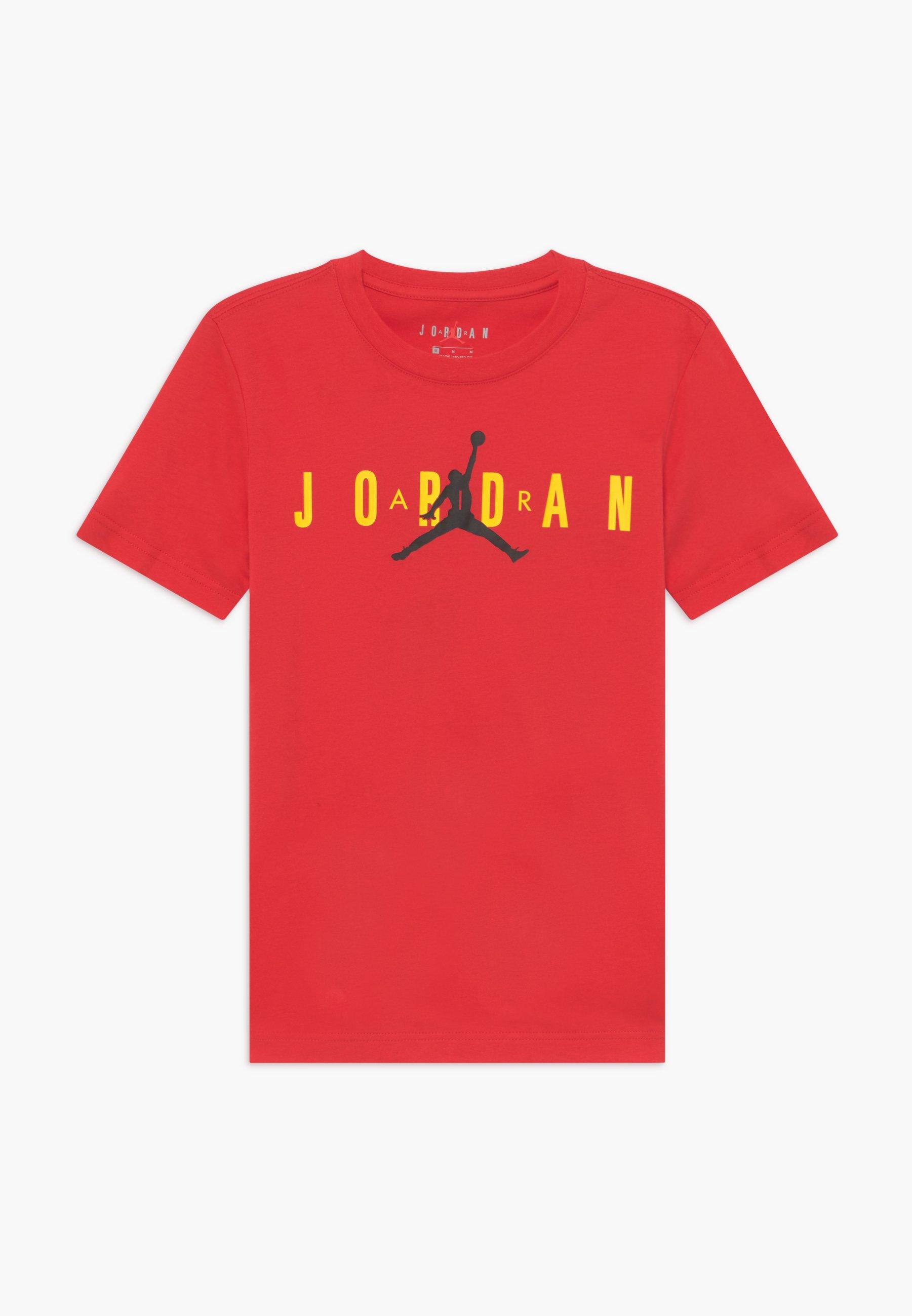 Große Förderung Jordan SPORT DNA CREW - T-Shirt print - red | Damenbekleidung 2020
