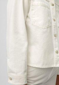 Marc O'Polo DENIM - Denim jacket - multi/bright white - 4