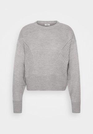 JDYJAYCEY - Svetr - light grey melange