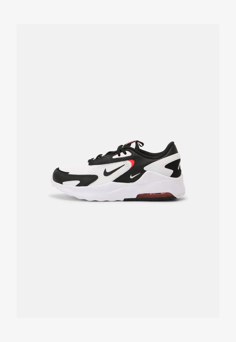 Nike Sportswear - AIR MAX BOLT BG UNISEX - Sneakers basse - white/black/bright crimson