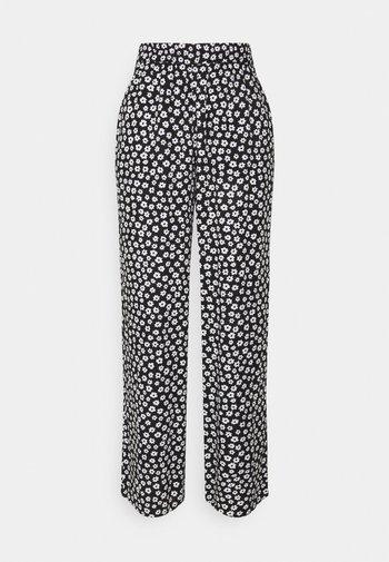 Trousers - black dark