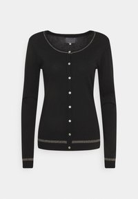 Culture - ANNEMARIE STAR CARDIGAN - Cardigan - black - 0