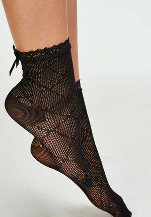 PAAR REBECCA MIR - Socks - black