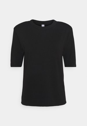 CORA - Basic T-shirt - black