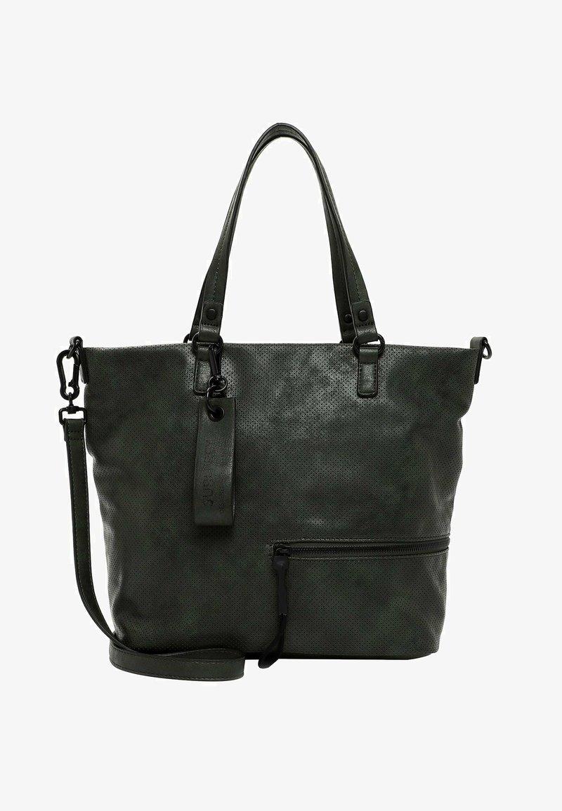 SURI FREY - CHELSY - Tote bag - darkgreen