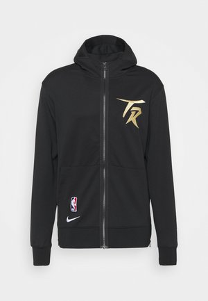 NBA TORONTO RAPTORS CITY EDITION THERMAFLEX FULL ZIP JACKET - Club wear - black/club gold/white