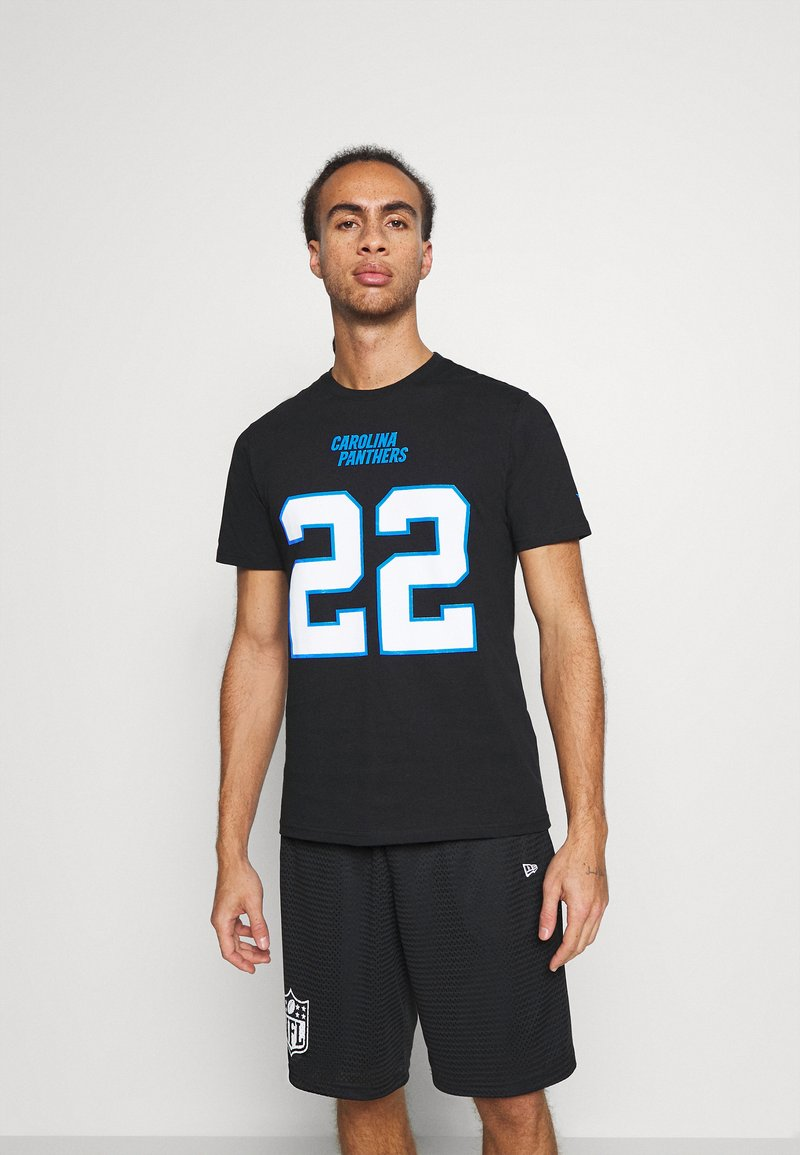 Fanatics - NFL CHRISTIAN MCCAFFREY CAROLINA PANTHERS ICONIC NAME & NUMBER  - Club wear - black