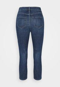 Marks & Spencer London - CROPPED - Jeans Skinny Fit - dark blue denim - 6