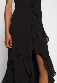 MICHAEL Michael Kors - SOLID RUFFLE MAXI - Occasion wear - black - 7