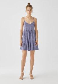 PULL&BEAR - Sukienka letnia - light blue - 1