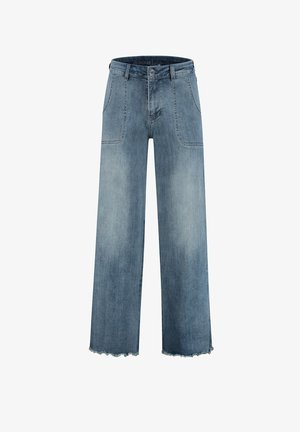 LISE P-FORM - Straight leg jeans - light shadow