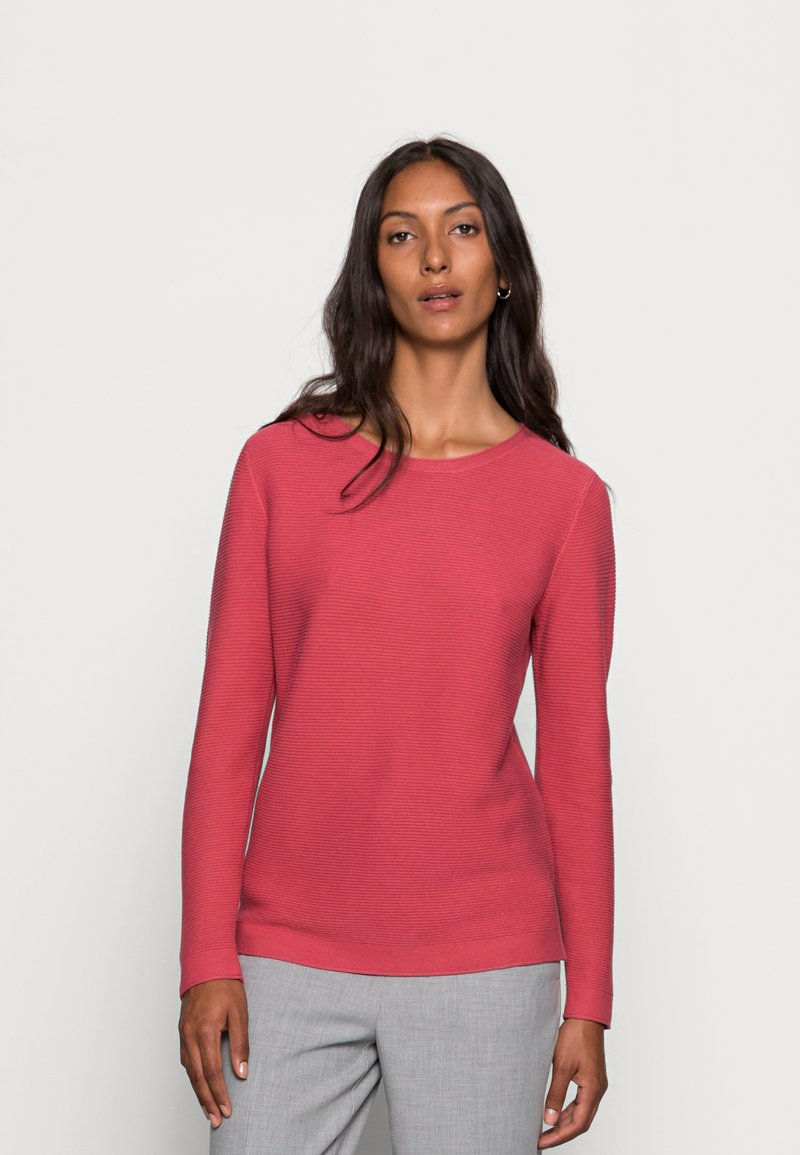 TOM TAILOR - SWEATER NEW OTTOMAN - Jumper - cozy pink