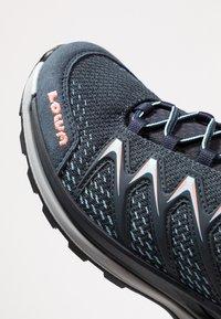 Lowa - INNOX PRO GTX MID - Hiking shoes - stahlblau/lachs - 5