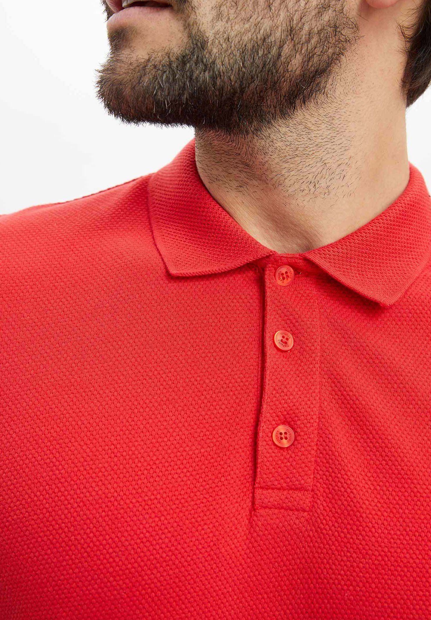 DeFacto Polo shirt - red fGnQM