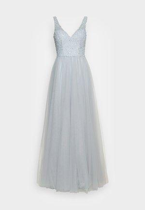 Společenské šaty - misty blue