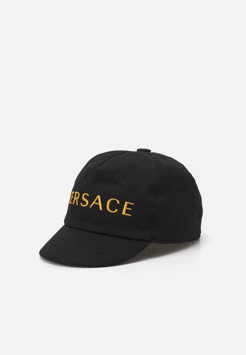 Versace - HAT SOLID COLOR UNISEX - Kšiltovka - black/gold