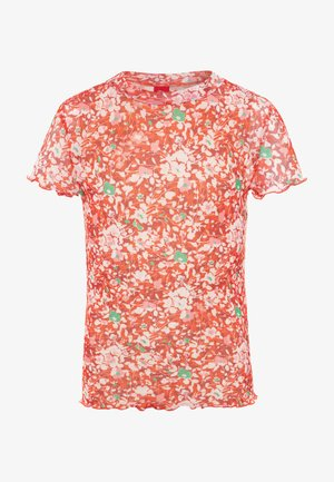 KURZARM - Camiseta estampada - chinese red
