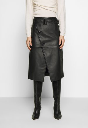 SWAY - Wrap skirt - black