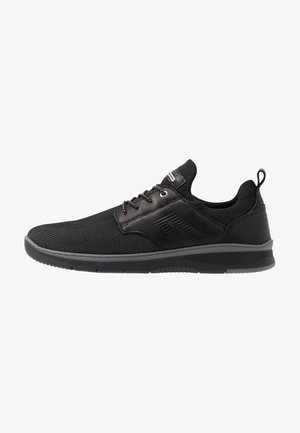 PORTHOS - Sneakers laag - black/grey