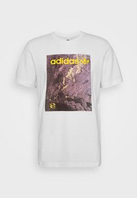 adidas Originals - TEE - T-shirt med print - white - 3