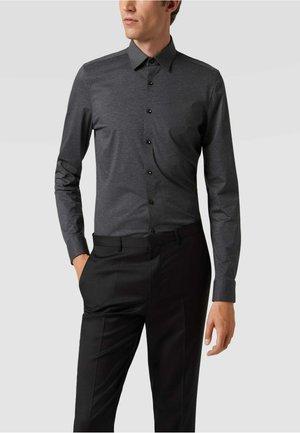 SUPER SLIM FIT AUS - Formal shirt - anthrazit
