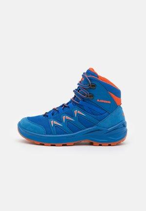 INNOX PRO GTX MID JUNIOR UNISEX - Hiking shoes - blau/orange