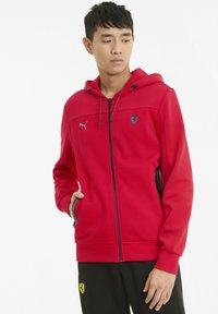 Puma - FERRARI STYLE - Zip-up hoodie - rosso corsa - 0