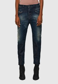 Diesel - FAYZA - Slim fit jeans - dark blue - 0