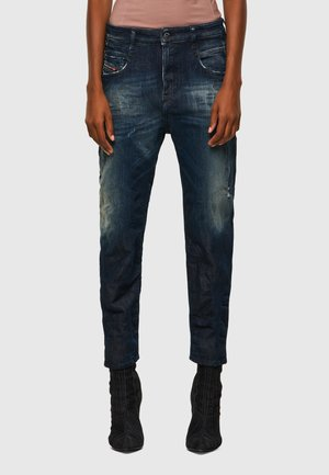 FAYZA - Slim fit jeans - dark blue