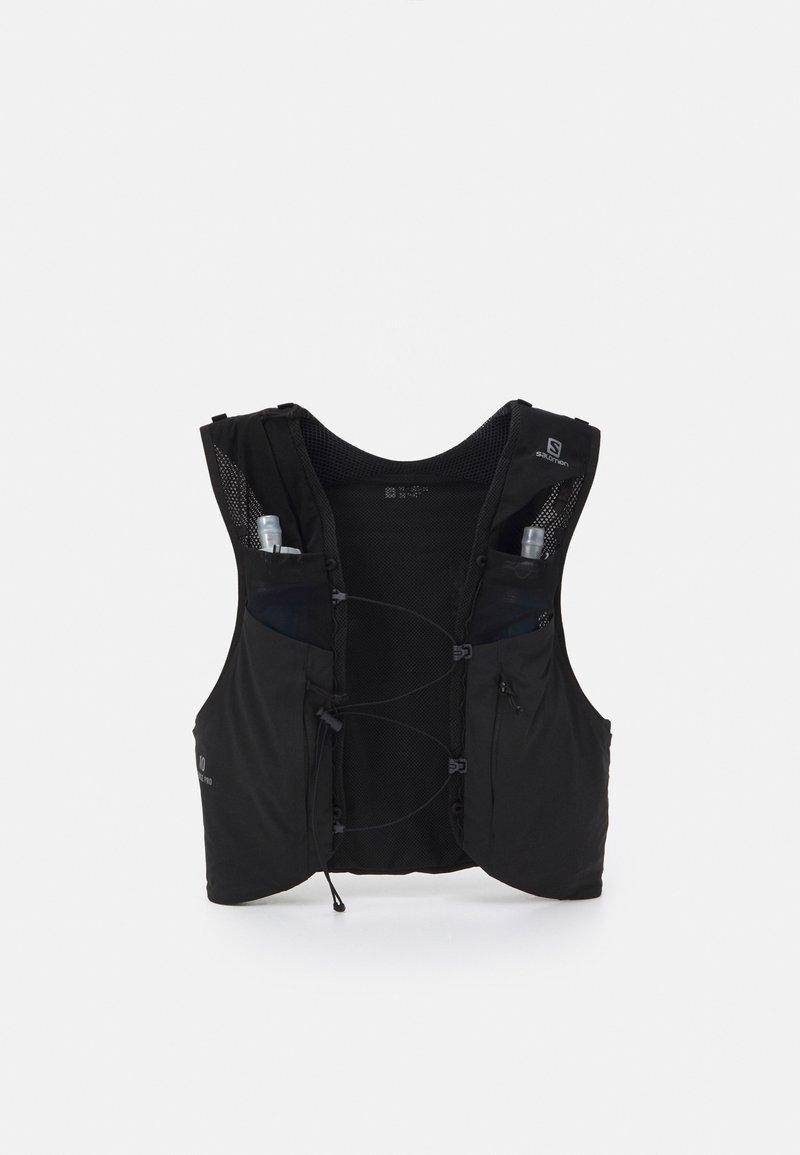Salomon - SENSE PRO 10 SET UNISEX - Sac avec poche d'eau - black