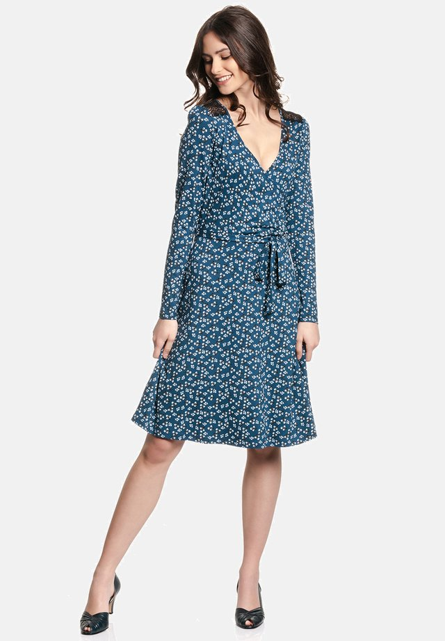 BLUEBERRY - Day dress - blau allover