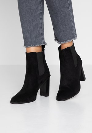 SCARLETTE - High heeled ankle boots - black