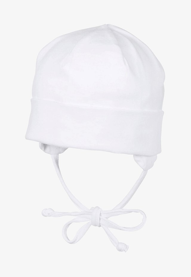 KOPFBEDECKUNG UNISEX BABY BEANIE - Beanie - white