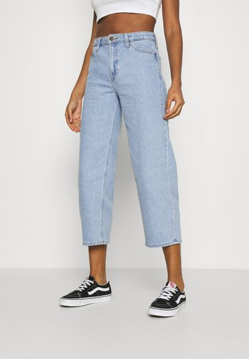 WIDE LEG - Jeansy Relaxed Fit - light alton